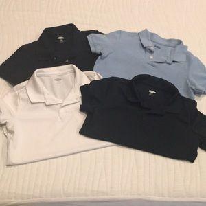 Boys Old Navy Uniform Polo Bundle